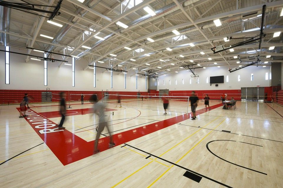 The College of the Desert Athletics Complex, with