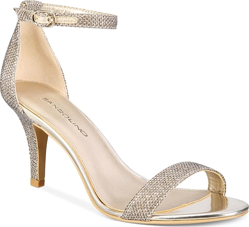 6fc1e1716bc Introducing the Bandolino Madia Dress Sandals. Cute sandals created by  Bandolino pictured in Gold. Any woman will look fashionable stepping into  these ...