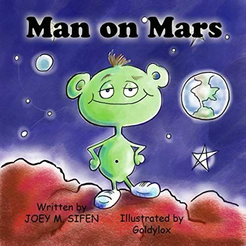 Book review of Man on Mars | Online books for kids ...