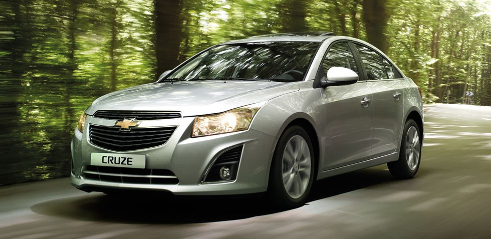 New Cruze Compact Car Featuring A New Front Fascia Grille More