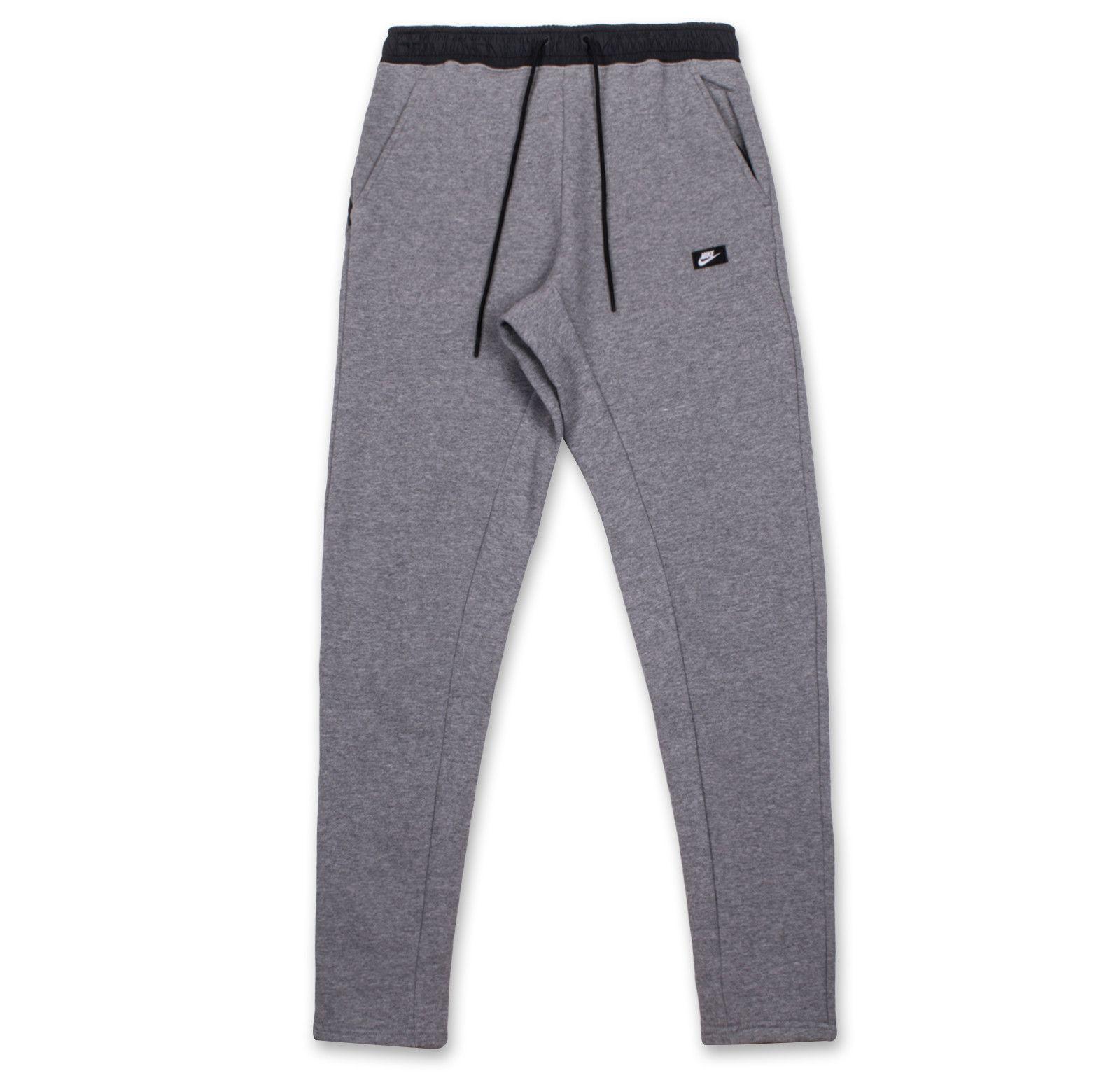 Nike Sportswear Modern Sweatpants-Carbon Heather Black