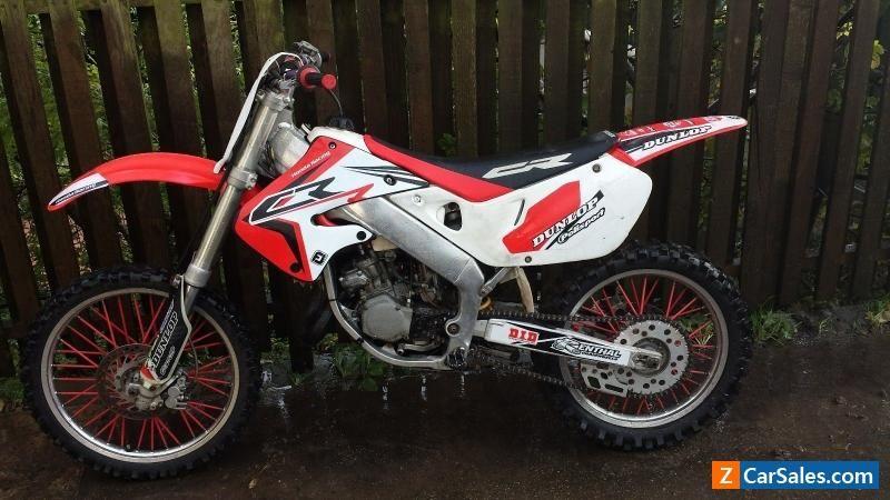 1999 Honda CR 125 motocross field bike 2 stroke  #honda #cr