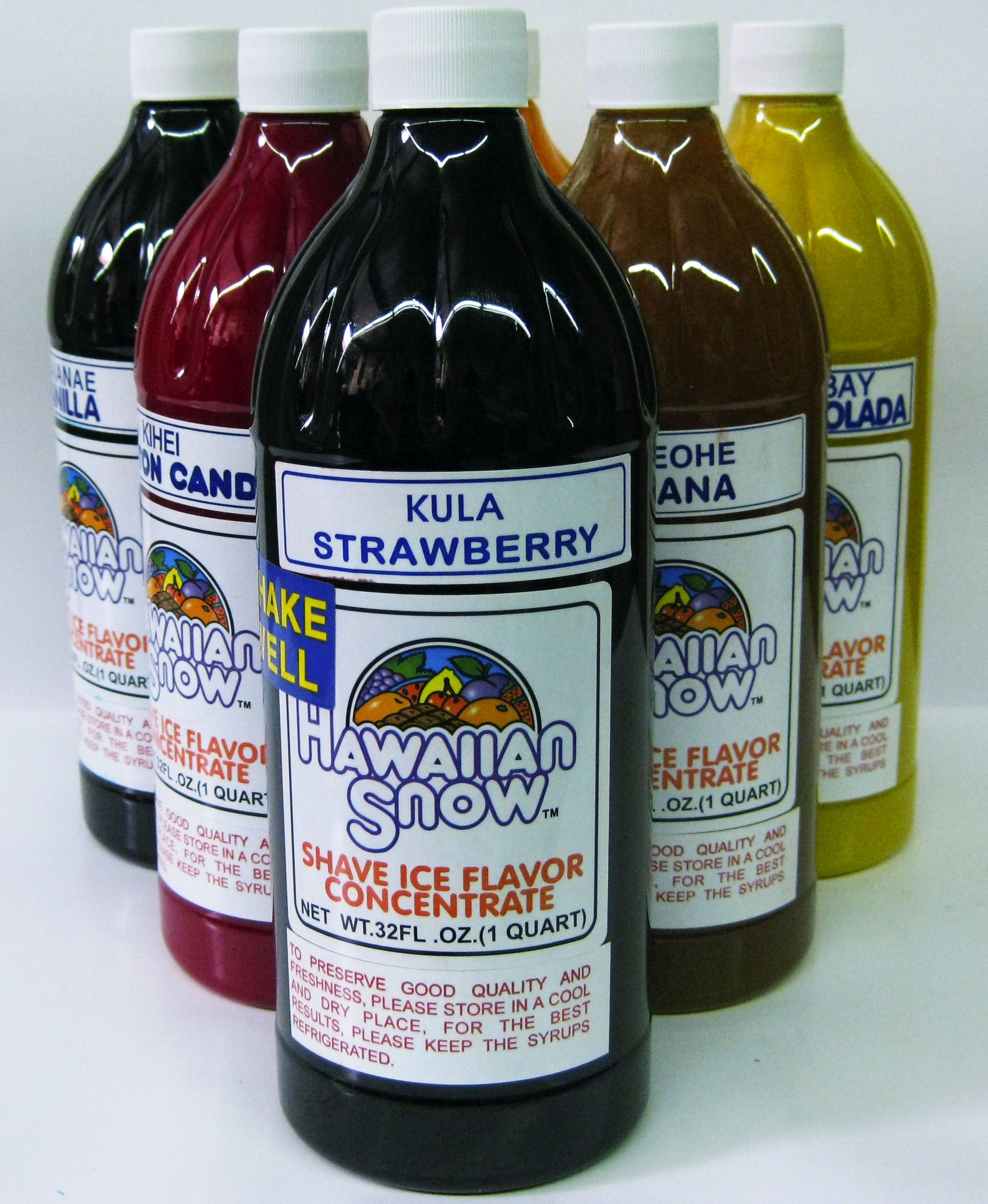 Shaved ice products