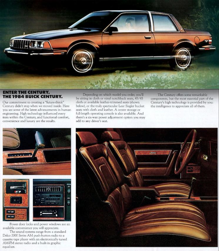 1984 Buick Century Coupe Buick Century Car Ads Buick