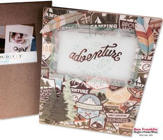 """Outdoor & Camping Paper to Capture your Summer Adventures - Paper """"Take a Hike"""" by BoBunny"""