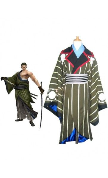 Devil Kings/Sengoku Basara Katakura Kojyuurou Cool Halloween Costumes
