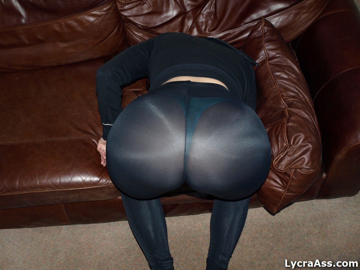 my big ass in sexy see through black lycra leggings and thong big butt women in lycra and. Black Bedroom Furniture Sets. Home Design Ideas