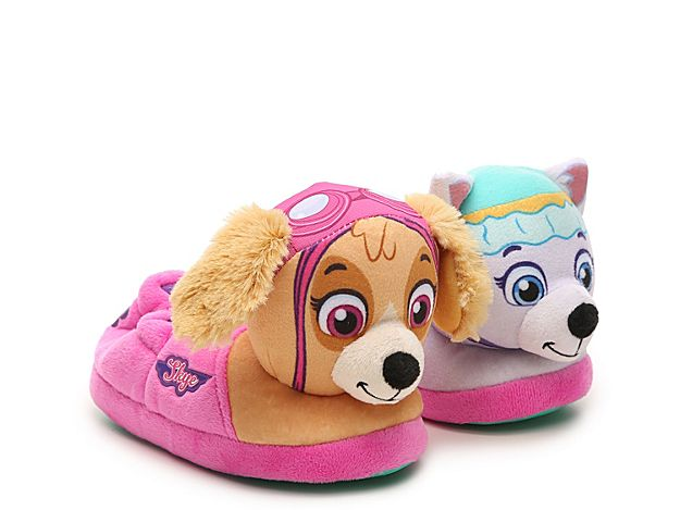 Girls Paw Patrol Slipper  Kids' Light Pink - Toddler slippers, Slippers for girls, Paw patrol, Slippers, Paw, Light pink - Paw PatrolPaw Patrol Slipper  Kids' Now she can rock her favorite Nickelodeon characters every night with the Paw Patrol slipper! Everest and Skye will lead her in her next adventure in comfortable style  Not sure which size to order  Click here to check out our Kids' Measuring Guide! For more helpful tips and sizing FAQs, click here