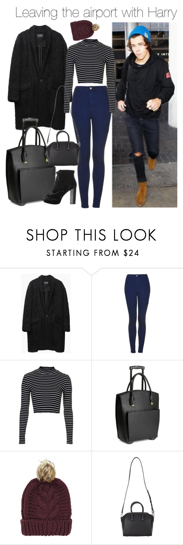 """Untitled #1693"" by danielle-eleanor-perrie-1 ❤ liked on Polyvore featuring Isabel Marant, Topshop, H&M and Givenchy"