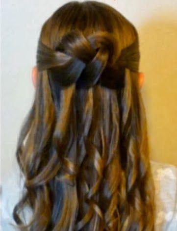 Elegantes Peinados De Fiesta Para Ninas Peinados Peinados Elegantes Para Ninas Pelo De Ninas