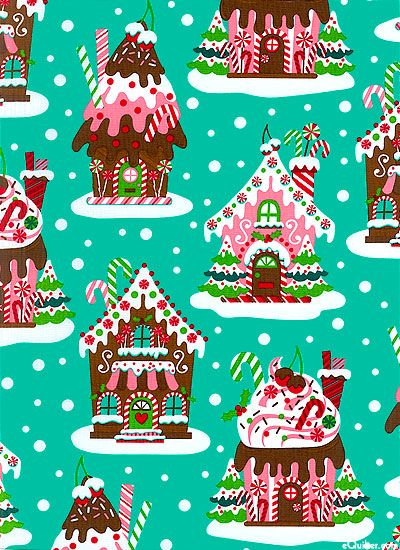 cute Christmas fabric! Cute christmas wallpaper