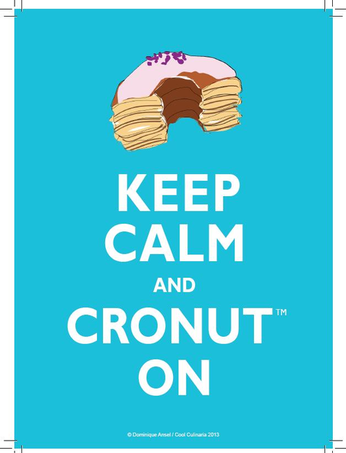 Cronut swag is a thing, now.