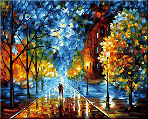 Paint By Number Kits For Adults Oil Painting Landscape Beautiful Oil Paintings Contemporary Oil Paintings