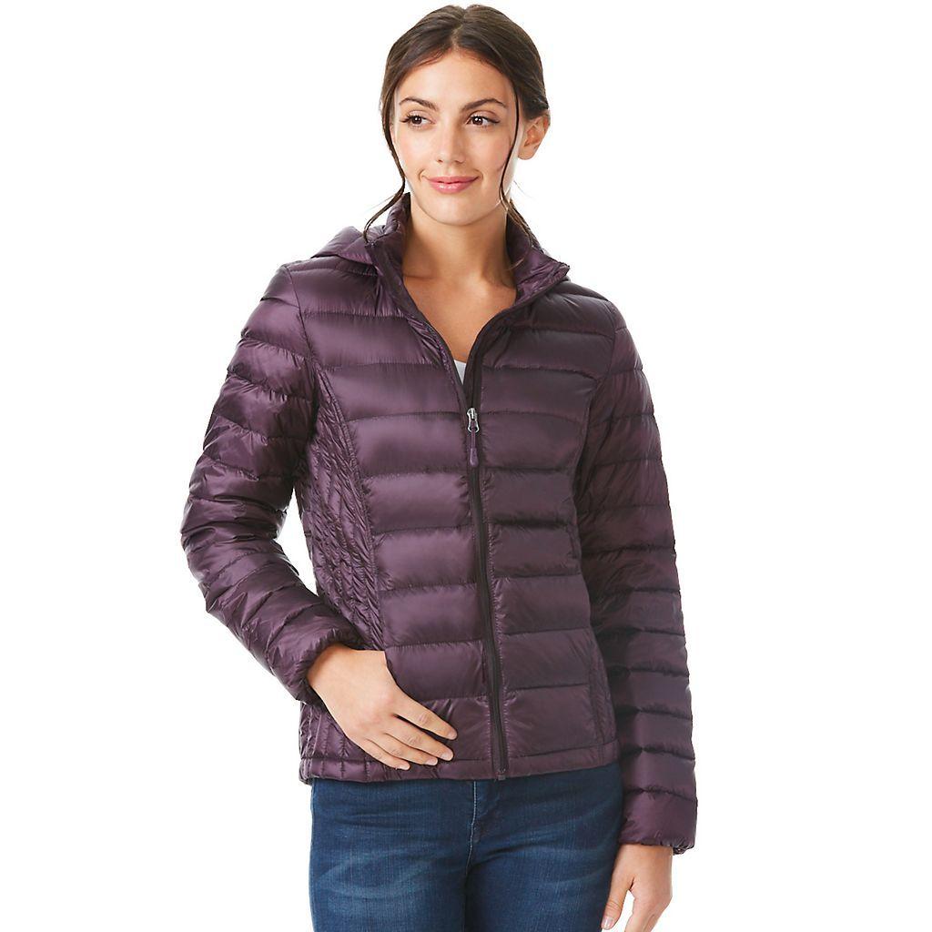 Women S Heatkeep Hooded Solid Down Puffer Jacket Kohls Jackets Puffer Jackets Puffer Jacket Women [ 1024 x 1024 Pixel ]