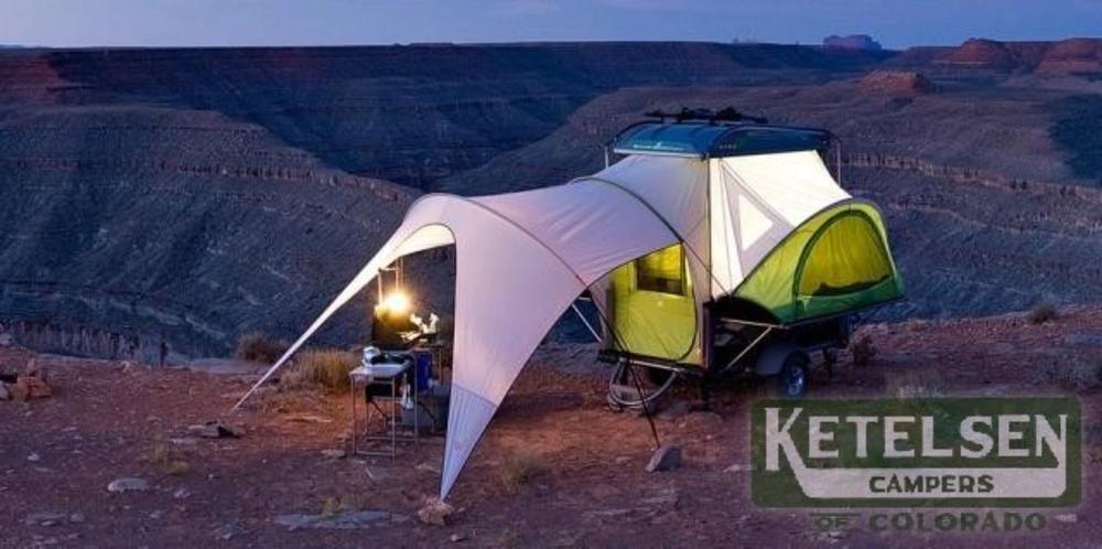 Exterior Camping trailer, Travel trailer, Camping