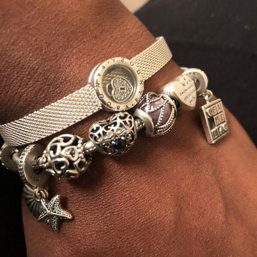 bracciale pandora - charm clip