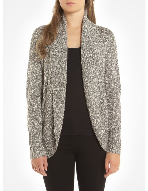 For cool fall days and Saturday errands.Two-tone wool open ...