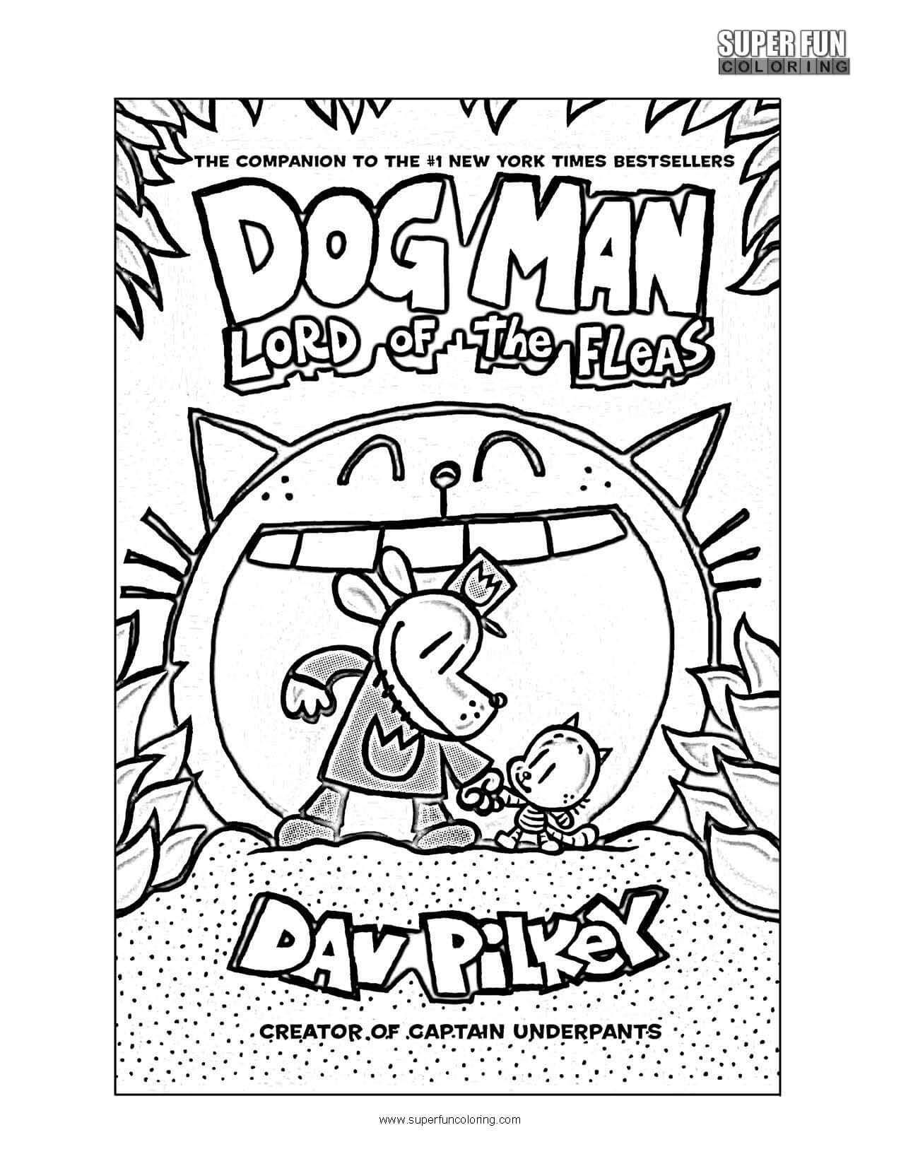 Dogman Coloring Pages For Kids Coloring Pages Printable Coloring Pages Dog Coloring Page