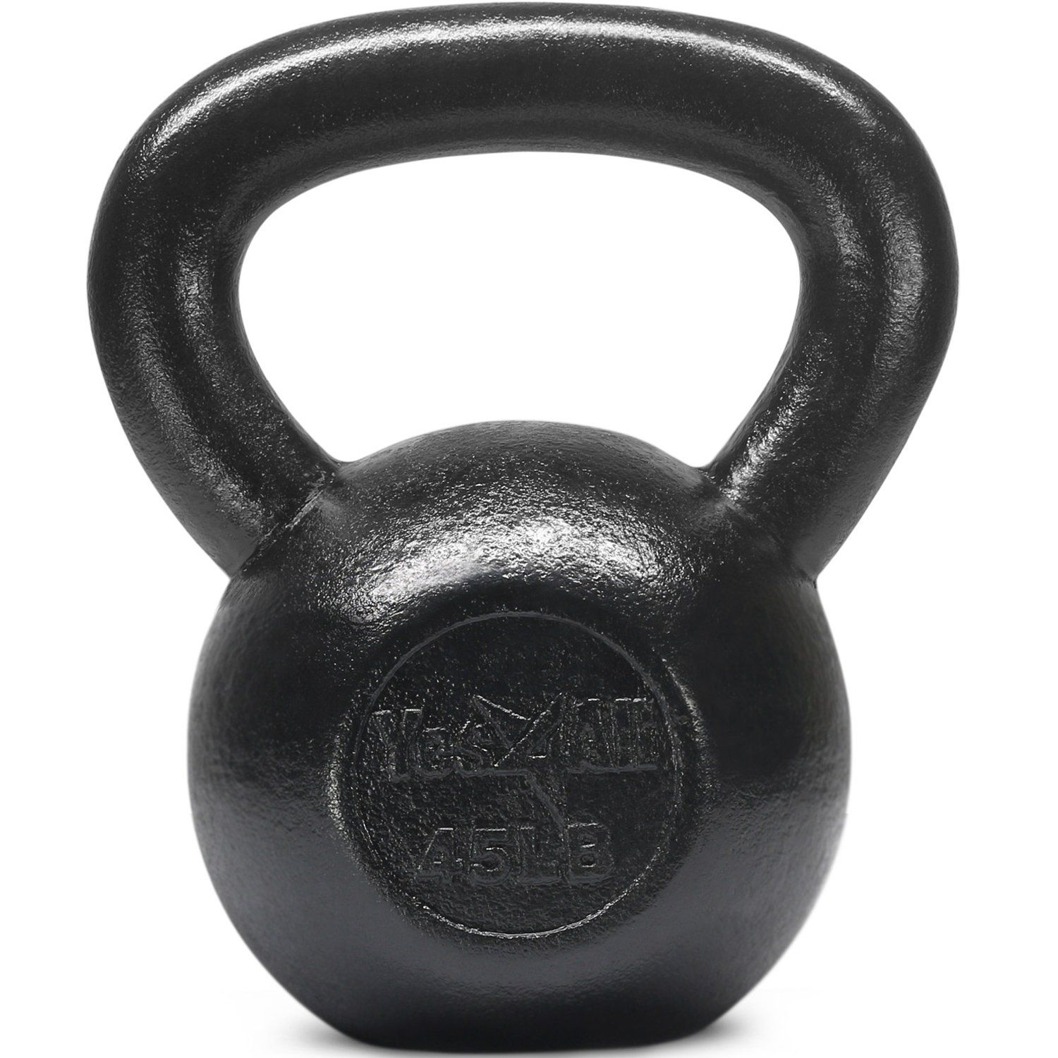 Yes4All Solid Cast Iron Kettlebell Weights Set Great for