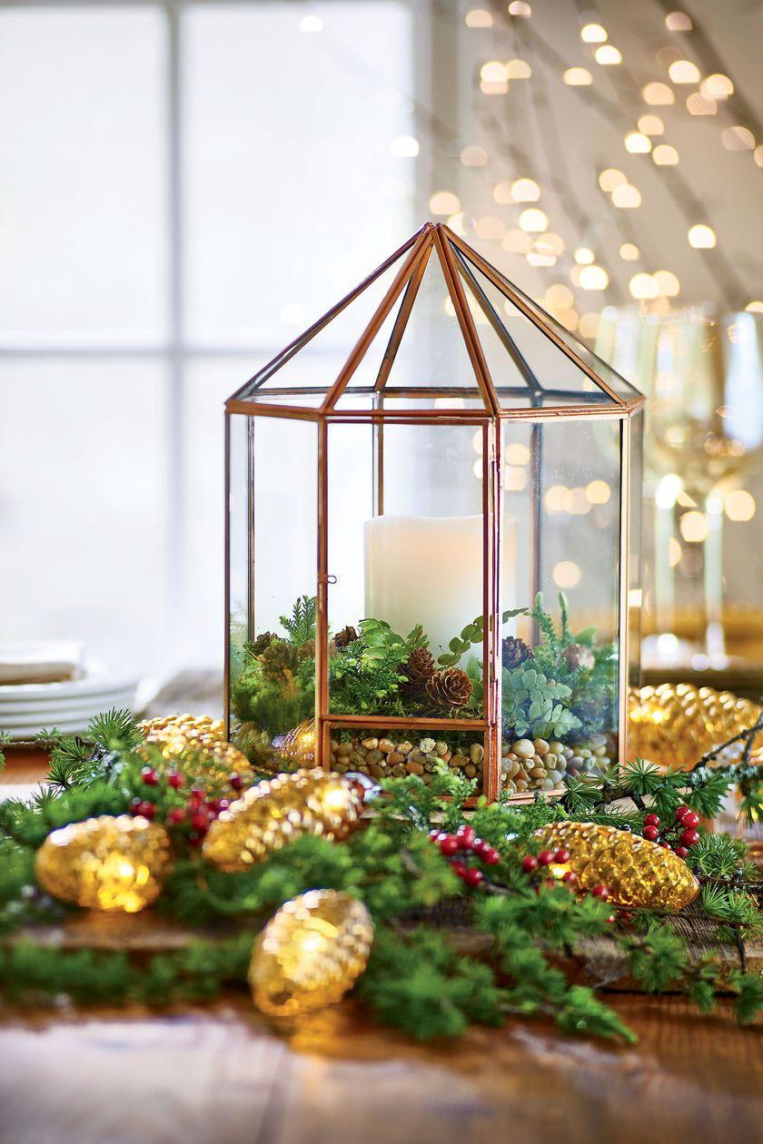Gazebo tabletop terrarium glass terrarium plant terrarium