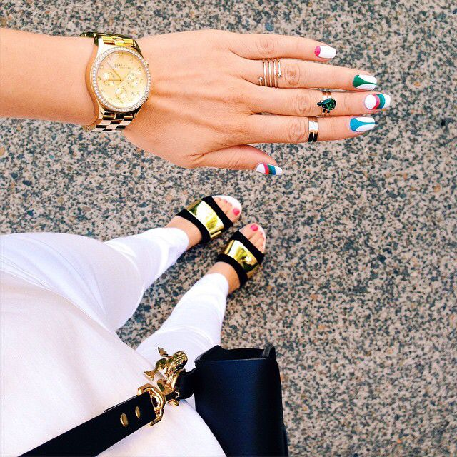 White and brights by So Nailicious