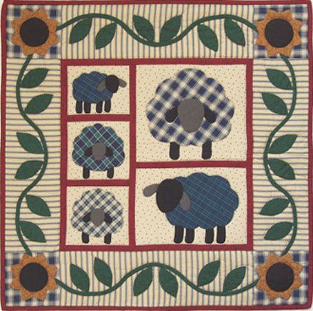 Country Dawn Ltd Another Cute Sheep Quilt Pattern Sheep