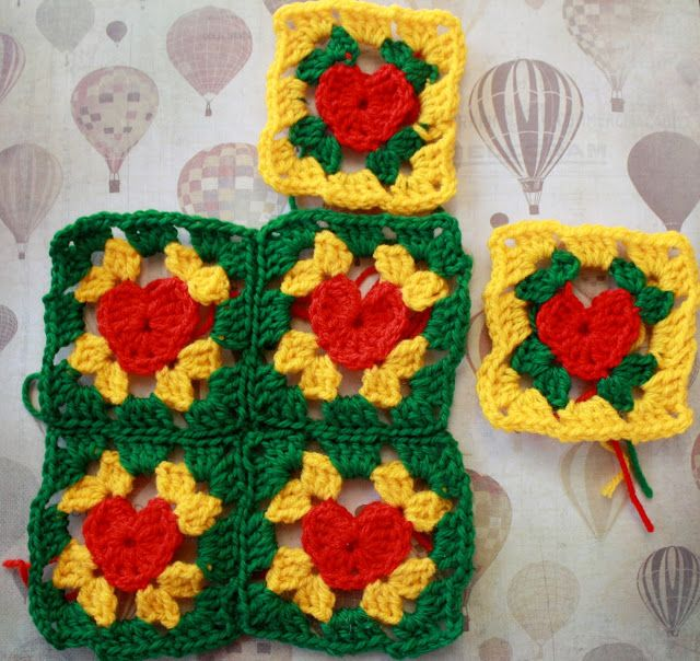 how to crochet a heart: {10 Days of Hearts} Day 2: Granny\'s Heart ...