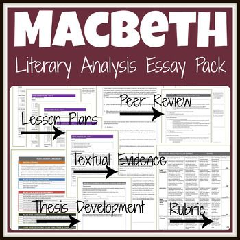 Sample Essays High School Students Macbeth One Week Essay Unit With Lesson Plans  Literary A English Essay Ideas also High School Essay Macbeth Essay Unit  Macbeth  Pinterest  Macbeth Essay Macbeth  How To Write An Essay For High School Students