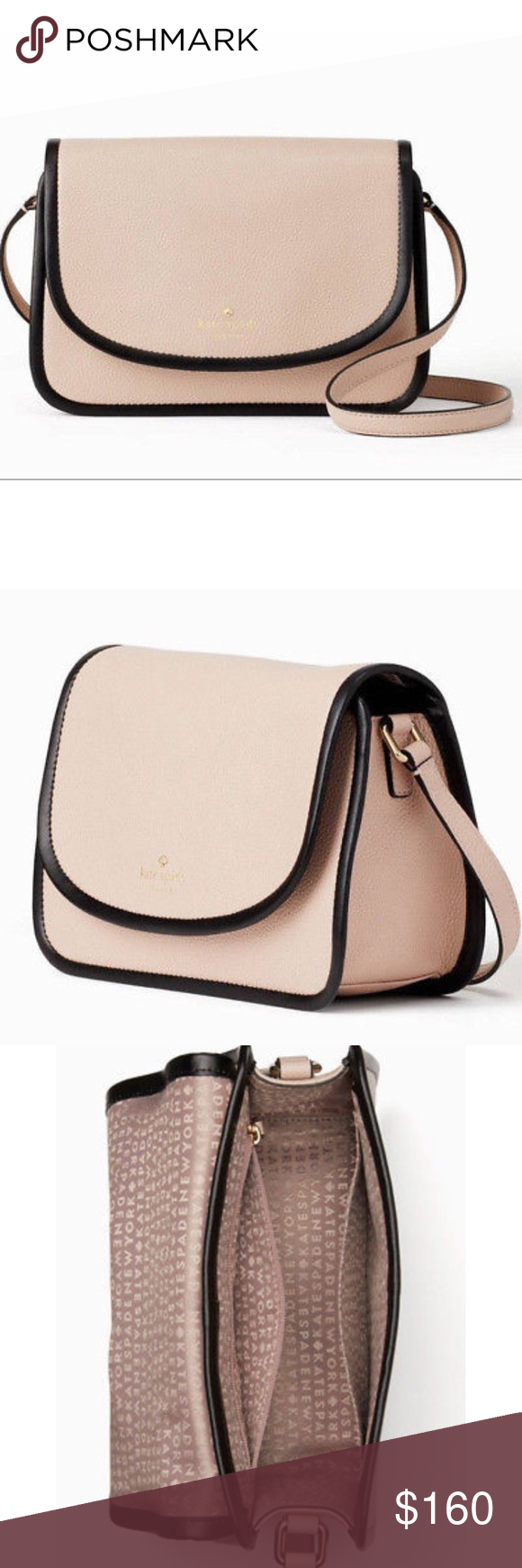 57f246e2c0d5a Kate Spade Ivy Ward Place Bag 100% BRAND NEW - GENUINE AUTHENTIC Kate Spade  New York Ward Place Ivy  WKRU5388 Rose Cloud (287) Features  Soft embossed  ...