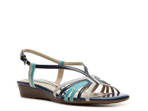 b8ea845cd7533 Naturalizer Joany Wedge Sandal Sandals DSW Navy