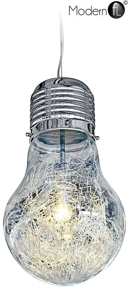 Details About Industrial Style Giant Light Bulb Shaped Ceiling