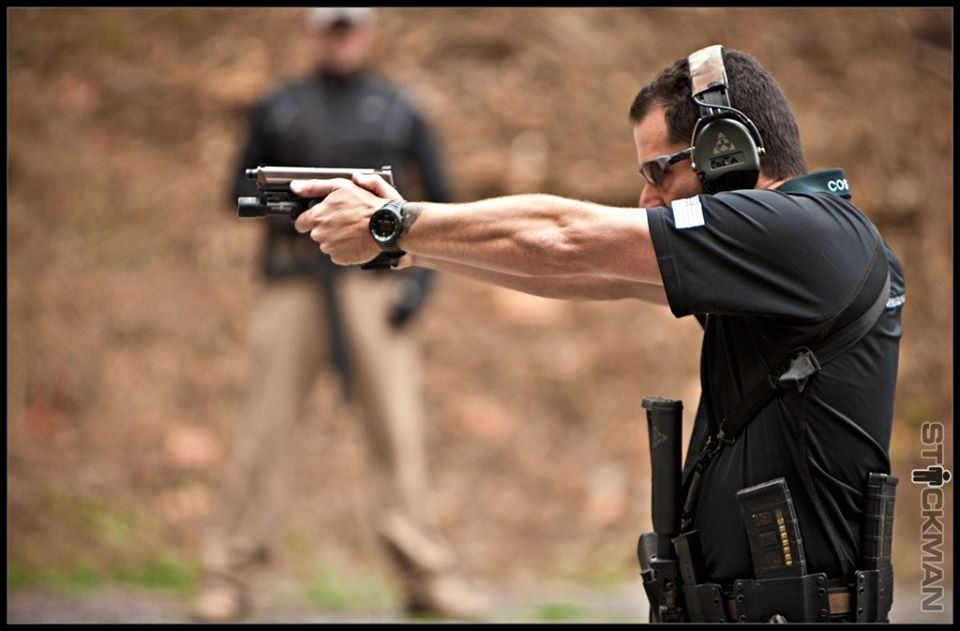 Proper pistol grip and stance w/ Chris Costa | Firearms