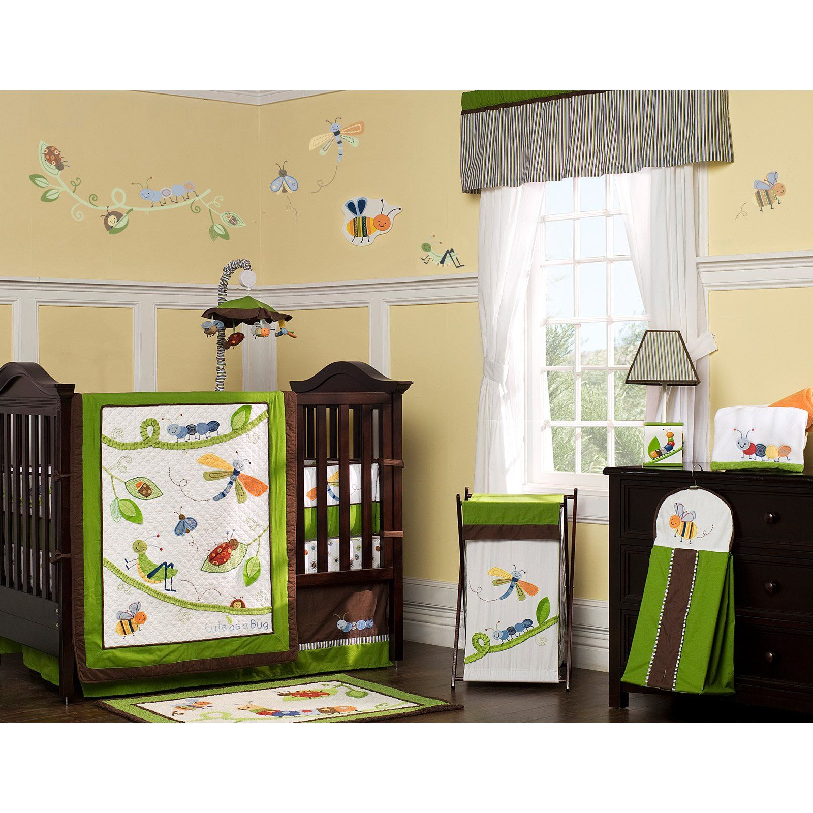 Have to have it. Kids Line Cute as a Bug 8 Piece Crib Set
