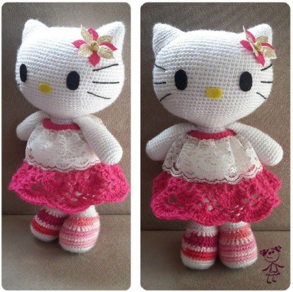 Hello Kittykatzehäkeln Animals Pinterest Kitty Amigurumi
