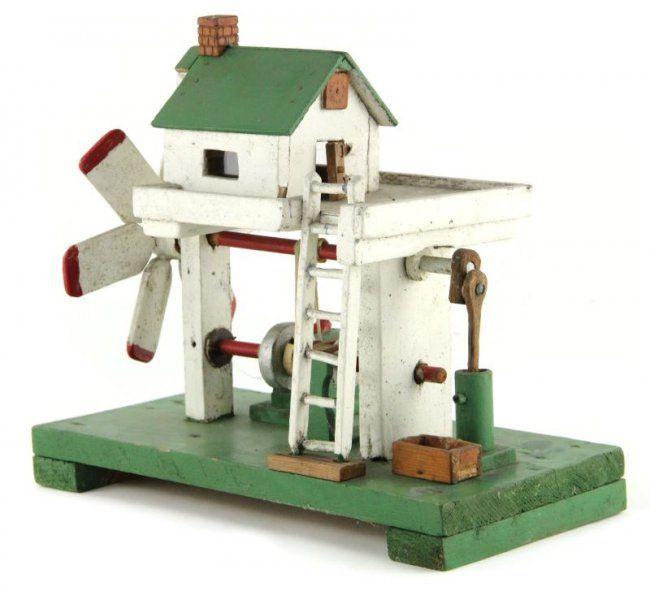 Vintage Farmhouse Whirligig