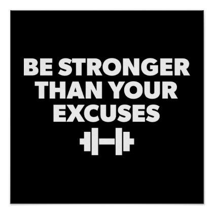 Workout Motivational Poster Zazzle Com Workout Posters Home Exercise Program At Home Workouts