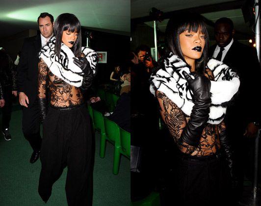 Rihanna's Paris Fashion Week marathon: the outfits - Telegraph