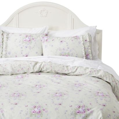 Simply Shabby Chic Bramble Duvet Set Green With Images Kids Room Bed Simply Shabby Chic