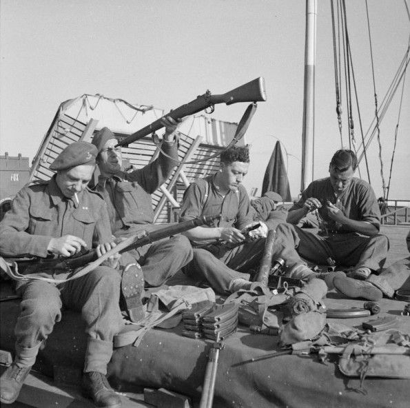 Troops From 7th Battalion Green Howards 69th Brigade 50th