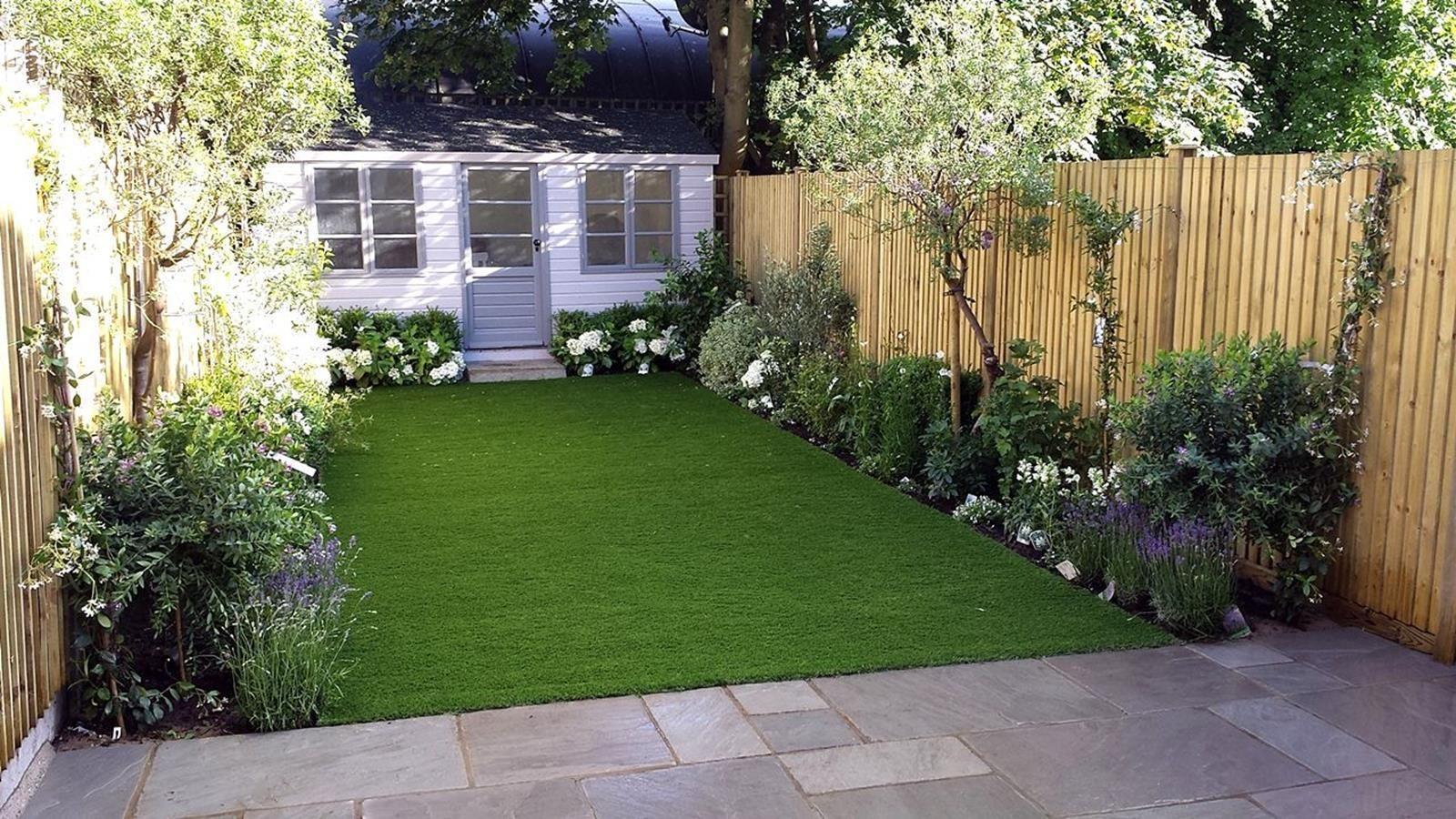 44 Stunning Low Budget Back Yard Landscaping Ideas Let S Diy Home Low Maintenance Garden Design Small Garden Design Ideas Low Maintenance Simple Garden Designs