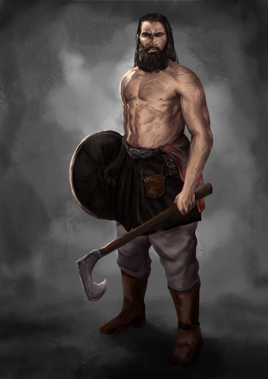Goth Tribal Fighter., Jorge Henriquez on ArtStation at https://www.artstation.com/artwork/g9kGP