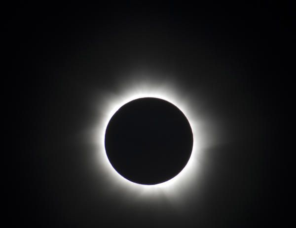 Total Solar Eclipse Circular Outline Of The Moon With The Suns Corona Illuminated Behind By Stockarch Com User Solar Eclipse Sun S Corona New Energy Source