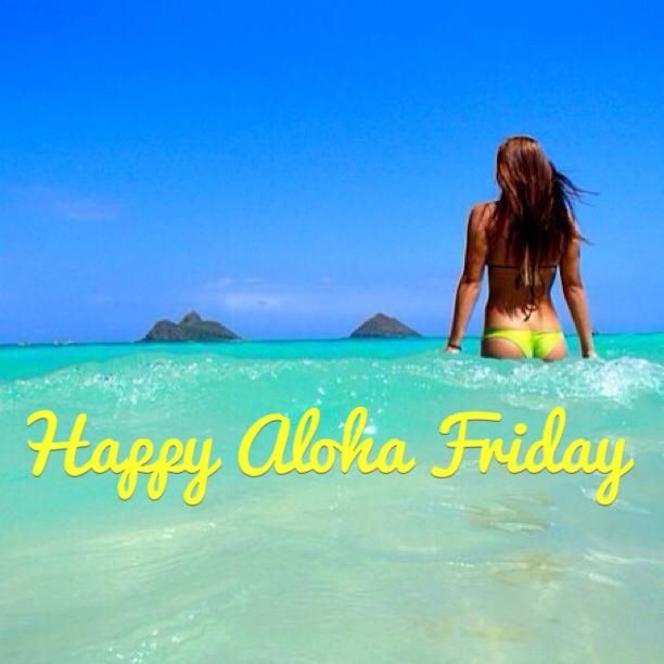 A little late but hey...it's Aloha Friday