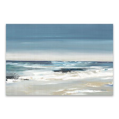 Global Gallery James Wiens Serene Seaside I Giclee Stretched Canvas Artwork 30 x 30