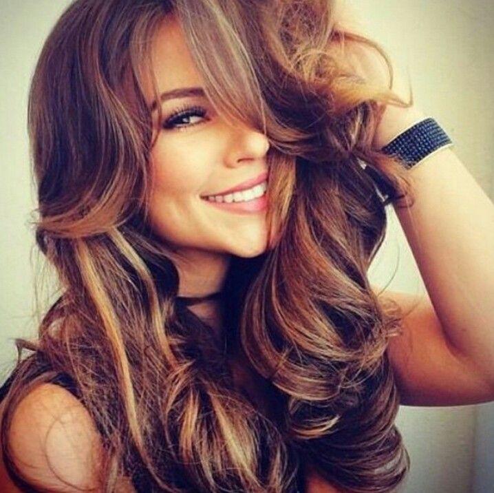 Olive Skin Tone Summer Hair Color Brown Hair With Blonde Highlights Hair Styles Brown Blonde Hair