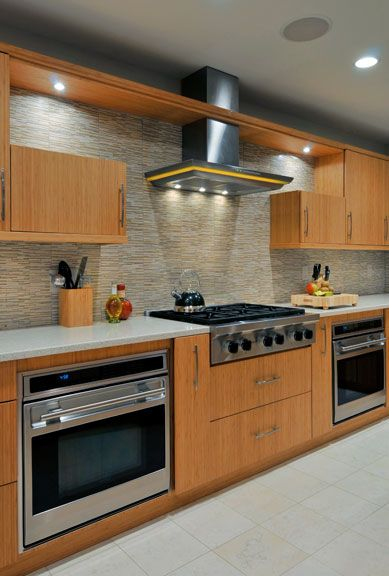 A Kichen Design With Two Ovens Lets Do Some Baking