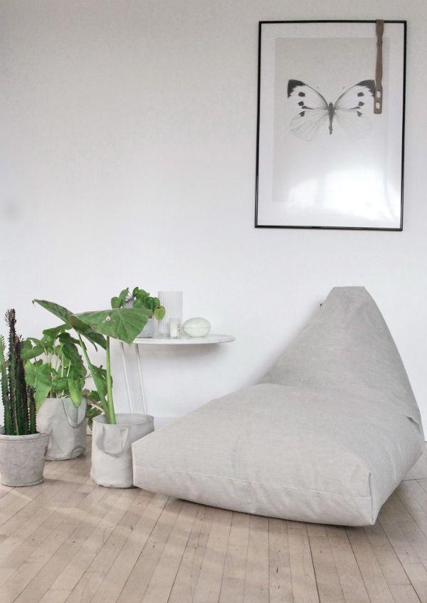 Sitzkissen Felix Lounge, blue jeans | Petit Pont - Skandinavische ...