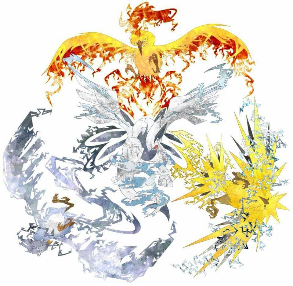 Winged mirages - legendary birds