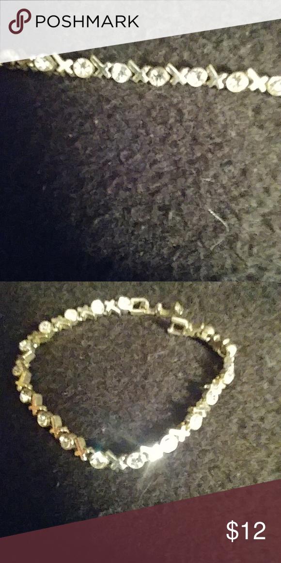 Bracelet Really Pretty Xo Diamond Tennis Size 7 To 1 2 Jewelry Bracelets Diamondtennisbracelets