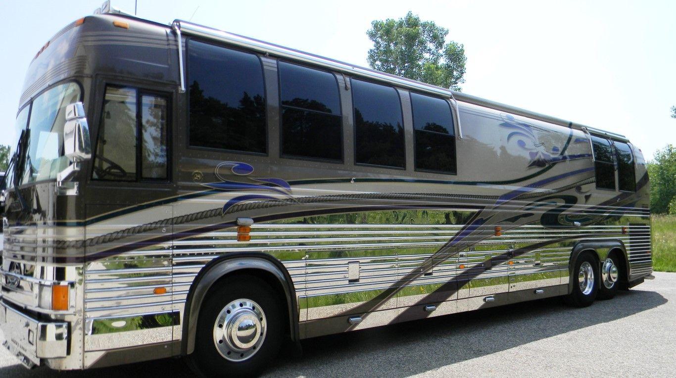 Prevost Coach Big Tour Bus Pinterest Bus Coach